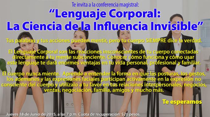 Conferencia Lenguaje Corporal