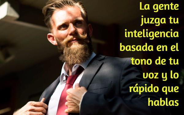 La Gente Juzga Tu Inteligencia Basada En El Tono De Tu Voz Y Lo Rápido Que Hablas